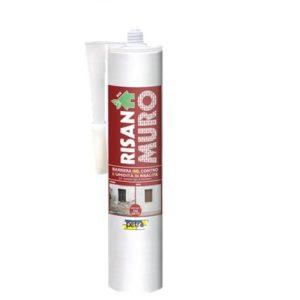 RISANAMURO barriera all'umidità di risalita capillare in gel a base acqua per qualsiasi tipo di muratura CARTUCCIA DA 280 CC