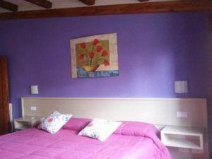 SUBEREX sughero spruzzato su muri interni per migliorare l'isolazione termica e acustica.