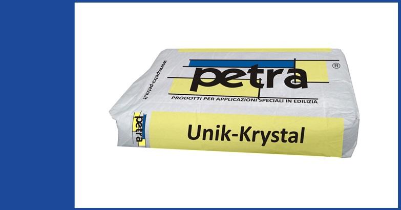 UNIK-KRYSTAL impermeabilizzante del calcestruzzo per cristallizzazione RS