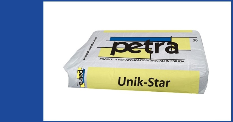 UNIK-STAR impermeabilizzante cementizio cristallizzante a spessore per calcestruzzo RS