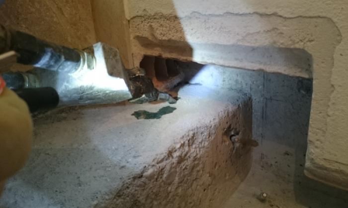 sigillatura infiltrazioni d'acqua in strutture interrate UDINE
