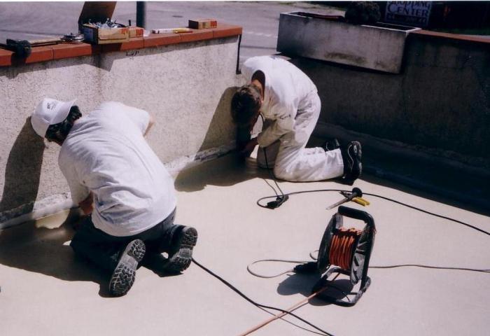 PETRA impermeabilizzazione copertura con manto sintetico GORIZIA