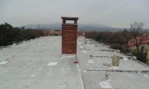PETRA manutenzione copertura con poliurea a freddo STRATOFLEX-RPF TRIESTE
