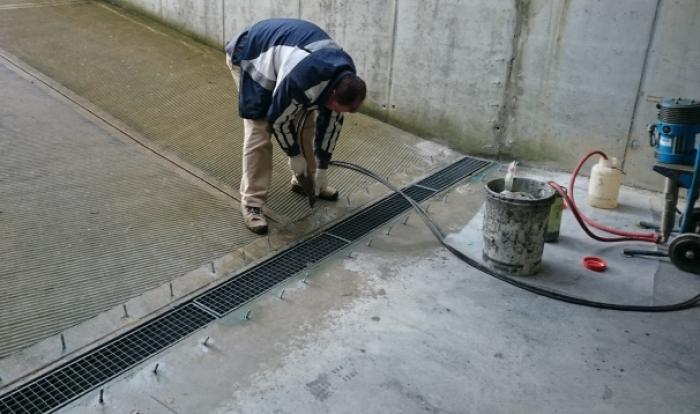 blocco infiltrazioni d'acqua con iniezioni di resine GORIZIA