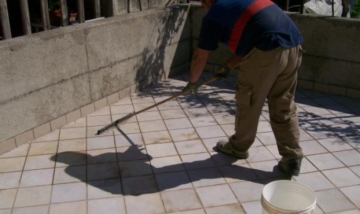 PETRA impermeabilizzazione terrazza con YDRO-TERRAZZA PORDENONE
