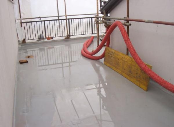 PETRA impermeabilizzazione terrazza con manto sintetico TRIESTE