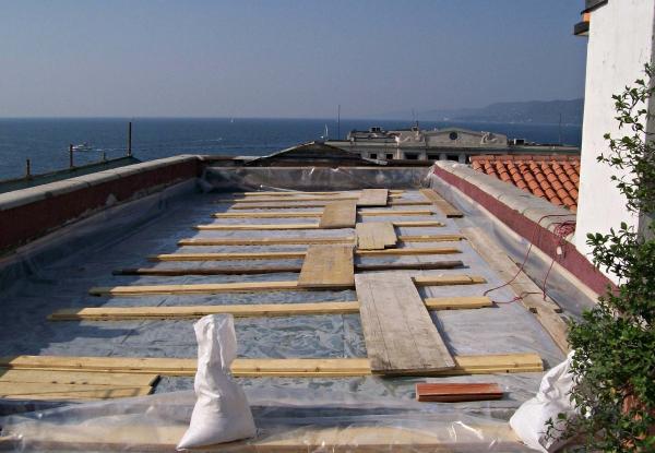 realizzazione di pavimento galleggiante TRIESTE