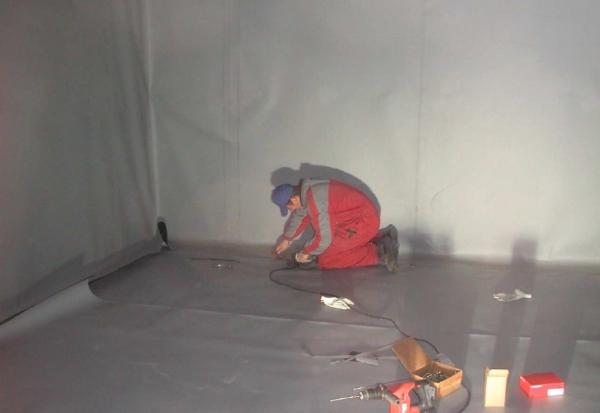 PETRA impermeabilizzazione copertura con manto sintetico