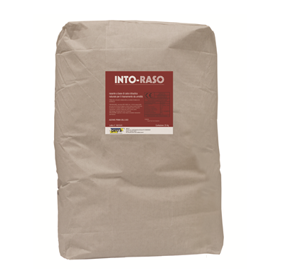 INTO-RASO rasante a base di calce idraulica naturale per il risanamento