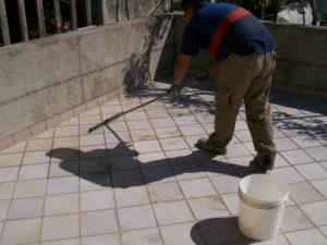 PETRA impermeabilizzazione terrazza con YDRO-TERRAZZA