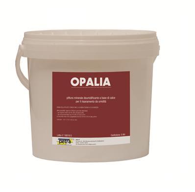 OPALIA pittura minerale a base di calce per il risanamento da umidità