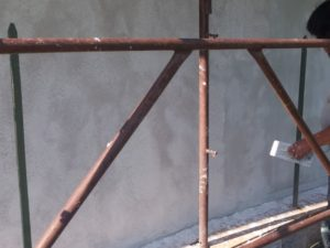 SUBEREX sughero spruzzato per la protezione delle facciate dagli agenti atmosferici