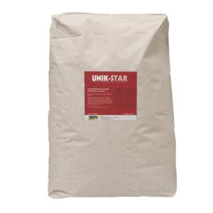 UNIK-STAR impermeabilizzante cementizio cristallizzante a spessore per realizzare fasce di contenimento per barriere all'umidità