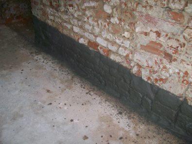 UNIK-STAR_KIT impermeabilizzante cementizio cristallizzante a spessore per realizzare fasce di contenimento per barriere all'umidità