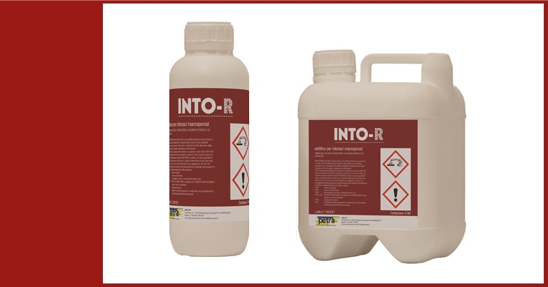INTO-R areante per intonaci macroporosi