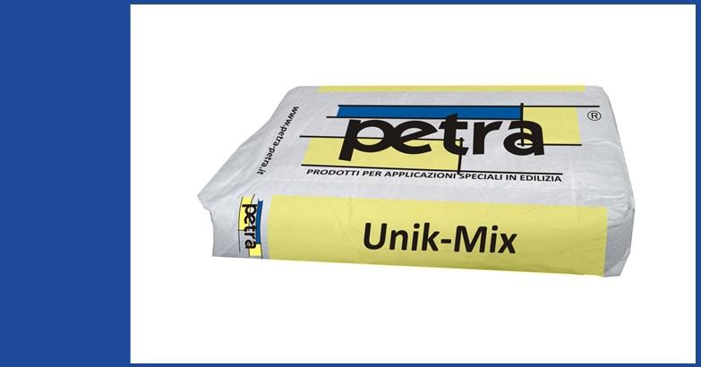 UNIK-MIX additivo impermeabilizzante del calcestruzzo per cristallizzazione RS
