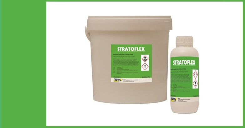 STRATOFLEX RPF membrana liquida impermeabile a base di poliurea a freddo bicomponente